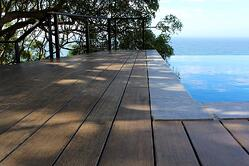 Freedom in design by combining bamboo boards with different widths