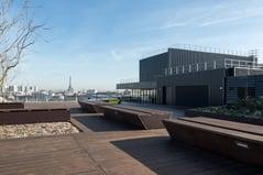 Rooftop decking paris Picture by David Ducastel Phileas