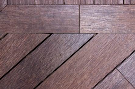 Terrasse en bois de bambou Showroom Moso Barcelone