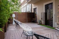 Small but stylish Bamboo X-treme deck in Barcelona