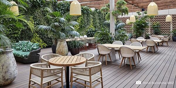 Hoe hard en sterk is een bamboe terras?