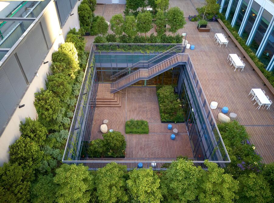 5 advantages of bamboo decking for commercial centers and shops