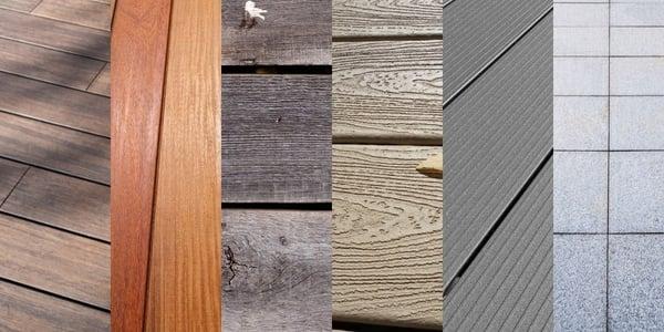 Terrasvloer materialen - wat zijn de verschillen?