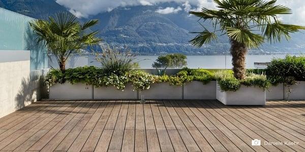Wat kost een terras van bamboe vlonderplanken?