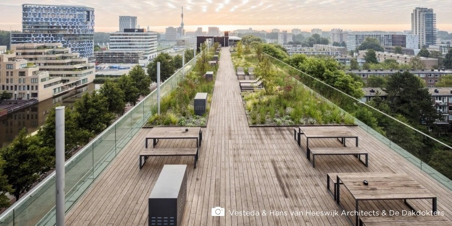 5 Rooftop decking ideas that can be made with bamboo decking
