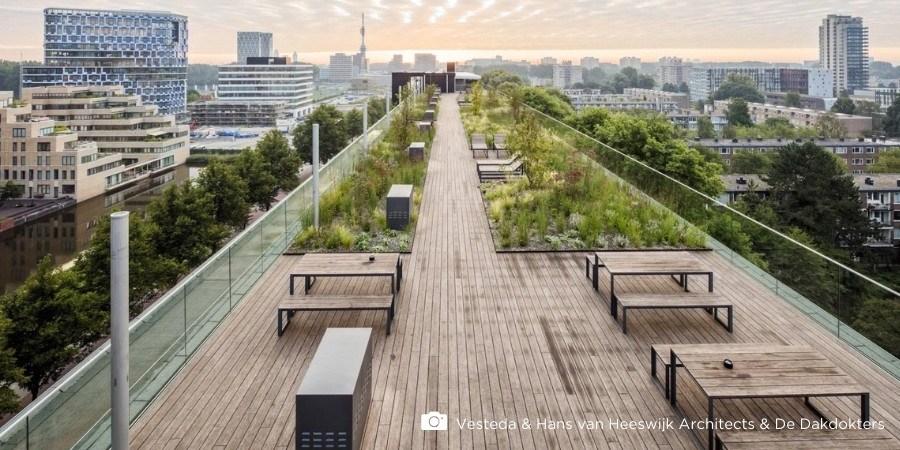 Dakterras inspiratie met 5 ideeën voor bamboe vlonderplanken