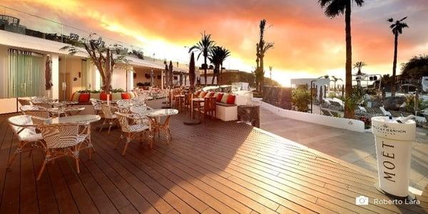 Hoteles con una elegante terraza de bambu