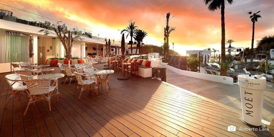 Hotels met een stijlvol en elegant bamboe terras