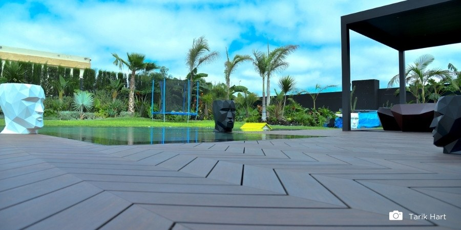What are the possibilities of bamboo outdoor decking?