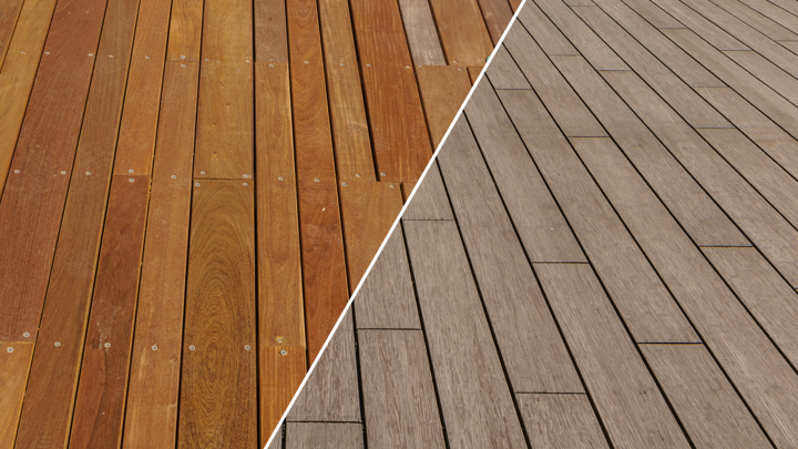 Pros and cons of hardwood decking vs bamboo decking