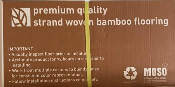 Moso6 premium bamboo flooring US floors