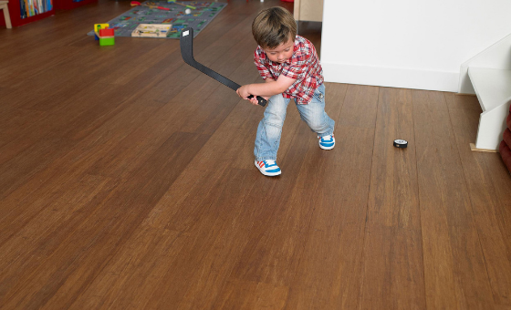 Bamboo parquet with underfloor heating? For sure!